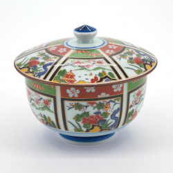 Japanese cup with lid picture sansui