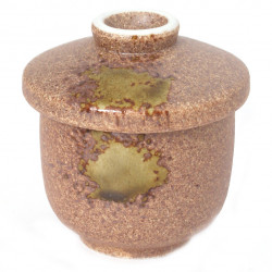 brown tea cup with lid ceramic 1071724