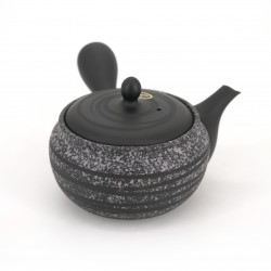 japanese grey kyusu teapot made of terracotta tokoname SHENYANG