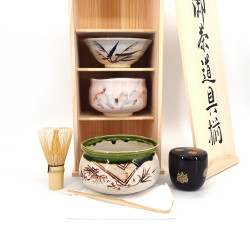 service for the Japanese tea ceremony , SADO, PRESTIGE 5 pcs