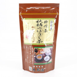 20 sachets of Japanese HOUJICHA green tea. harvested in Autumn. 50g