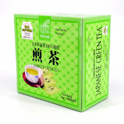 Box of 50 Sencha green tea bags - NEW FAMILY SENCHA