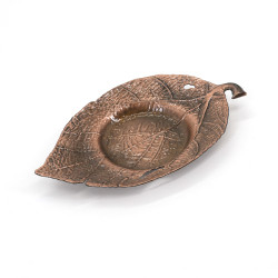 Bronze-colored metal coaster / cup - SUCHIRUFURAWA