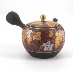 YAMA Tokoname-Kutani Teapot, Bunch of Grapes