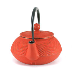 japanese Cast Iron Teapots IWACHU, arare, red, 0,8lt