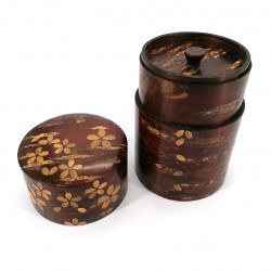Cherry bark tea box with cherry petals, SAKURA, 120 gr