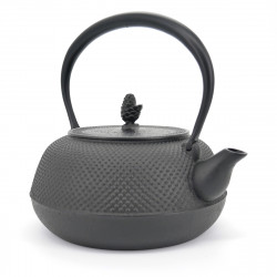 cast iron kettle 1,7L compatible with induction hob IH HIRAMARU ARARE