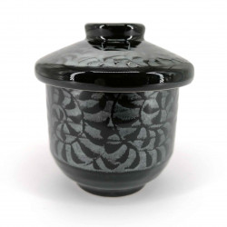 japanese tea bowl with lid 4519