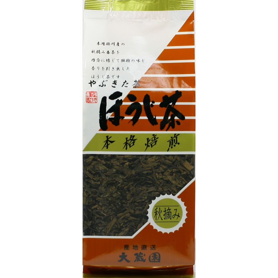 japenese green tea. hojicha. net weight 130g. Shizuoka Japon