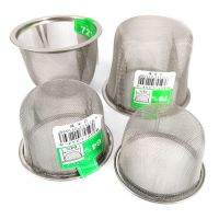 Filter for Japanese cast iron teapot, INOX, size of your choice between 53 mm and 74 mm