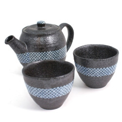 Japanese tea set ceramic ginsai