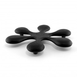 Japanese trivet for teapot, SPLASH, black
