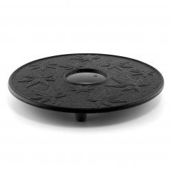 Japanese trivet for teapot, KAEDE, black