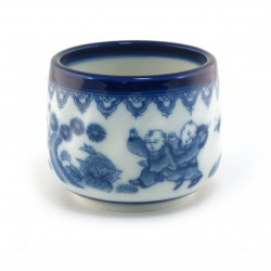 Japanese blue & white teacup traditional 16M5741448E