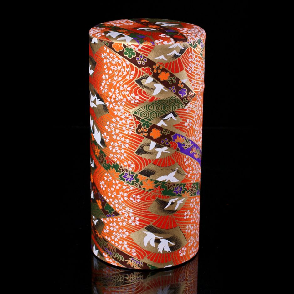 Japanese tea box washi paper 2020GK