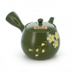 Japanese traditional teapot sakura flower patterns MIDORIDORO SAKURA